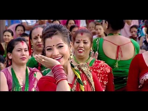 New Nepali Teej Song(2071 2014)| Malai Ta Katti Maja Ho By Sarita Shreshtha & Khuman Adhikari video