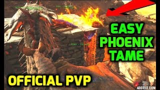 Ark: HOW TO FIND, TRAP & TAME THE LEGENDARY PHOENIX ON OFFICIAL PVP