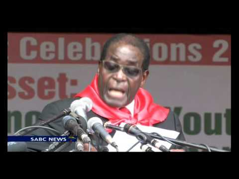 Mugabe celebrated 90th birthday