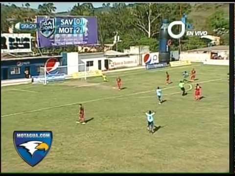 Gol de Georgie Welcome - D. Savio 0 - Motagua 3 - Jornada 18 - 22/04/2012