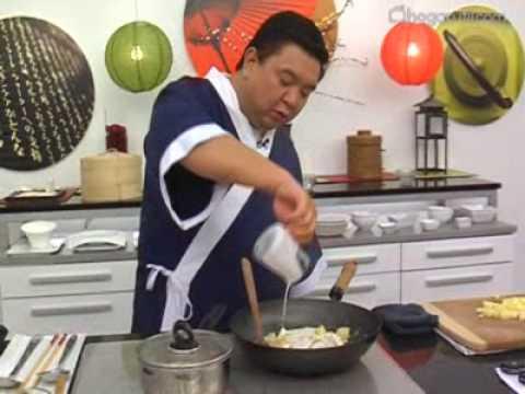 Pollo thai madssaman, receta en Wok por Iwao Komiyama
