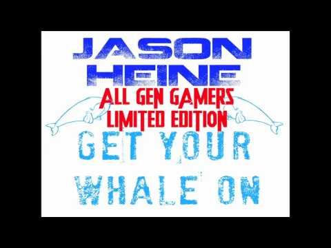 Signed All Gen Gamers LIMITED EDITION Get Your Whale On CD's Via Kickstarter!