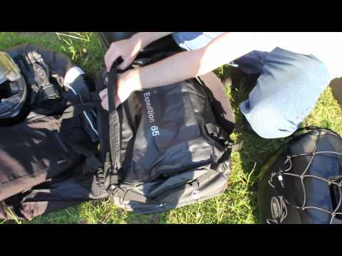 Scotland Edit 8 - How to Pack for a Motorcycle Camping Trip