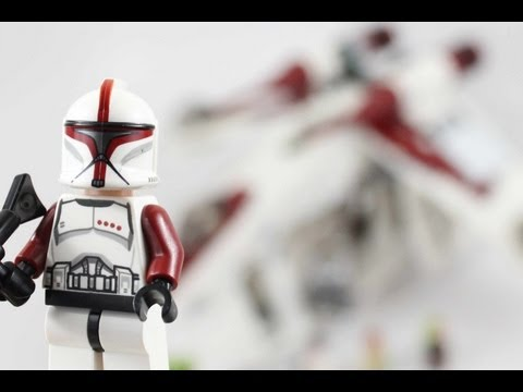 LEGO Star Wars Republic Gunship Review 75021