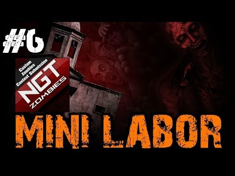 Custom Zombies - Mini-Labor | An EPIC Win and EPIC Map Credits! (Part 6)