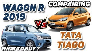 TATA TIAGO vs WAGON R 2019 | What to buy ? | Auto Encyclo | Hindi