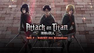 Attack on Titan – Anime Movie 3: Gebrüll des Erwachens (Kino-Trailer)