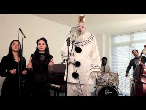 "Royals - (""Sad Clown With The Golden Voice"") - Postmodern Jukebox Lorde Cover ft. Puddles Pity Party"