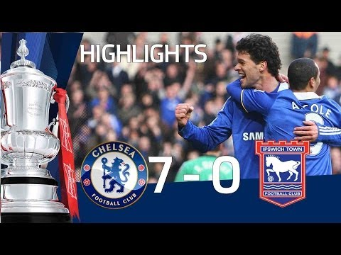 Chelsea 7-0 Ipswich | The FA Cup 3rd Round - 09/01/11