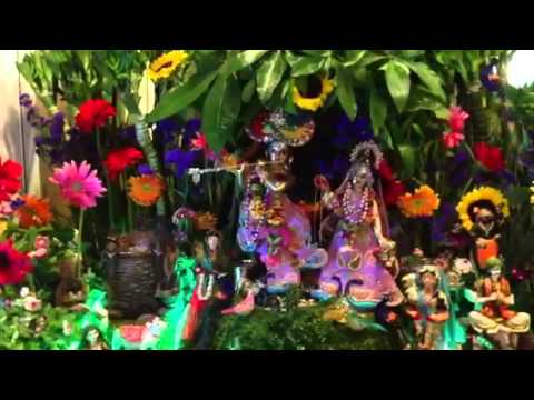 Janmashtmi 2013, Sringar Aarti Iskcon Hong Kong video