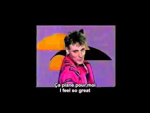 Ça plane pour moi   Plastic Bertrand  / Lou Deprijck French and English subtitles