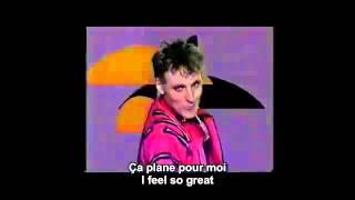 Ça Plane Pour Moi Plastic Bertrand Lou Deprijck French And English Subtitles