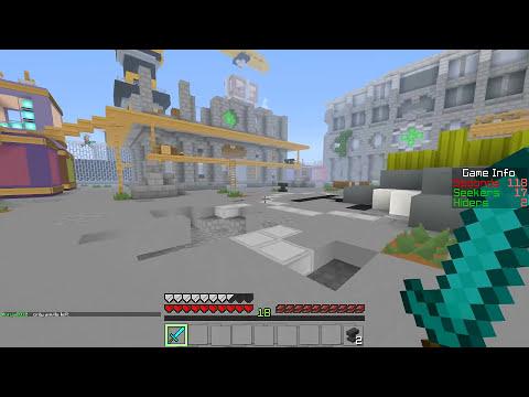 Minecraft: Hide N Seek - A Galinha Chu?