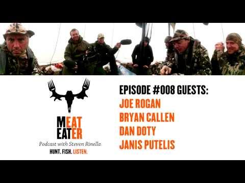 Episode 008: Joe Rogan, Bryan Callen, Dan Doty, and Janis Putelis