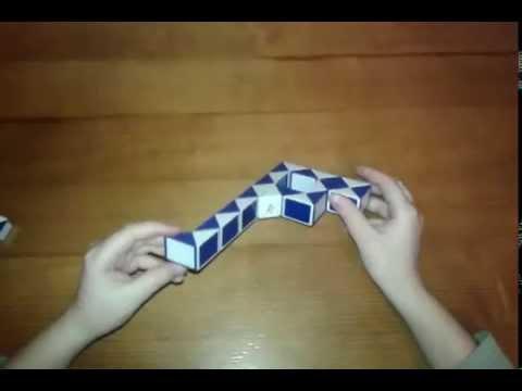 Как сделать человека из змейки видео