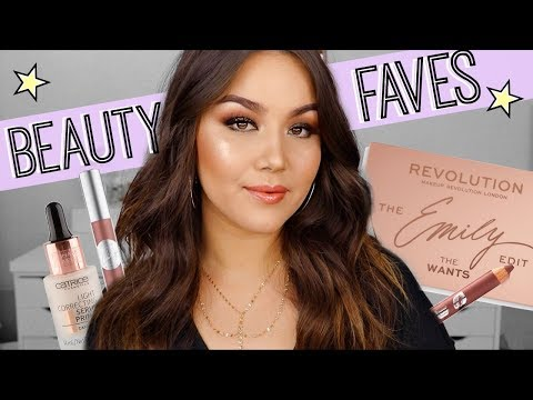 CURRENT BEAUTY FAVORITES 2018