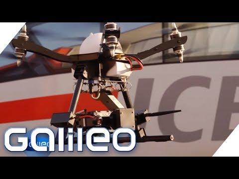 Drohnen bei der Deutschen Bahn: Das soll die Technik verbessern | Galileo | ProSieben