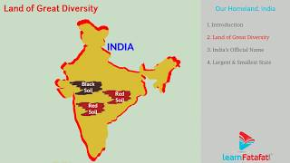 SSC Class 10 Geography Chapter 1 Physical Divisions of India - Part 1 Our Homeland, India