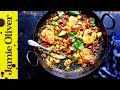 Tray-Baked Chicken with Spiced Indian Potatoes | Jamie Oliver