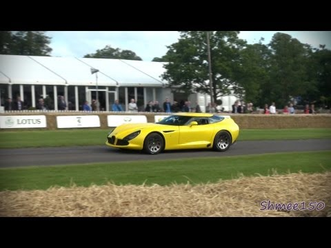 Alfa Romeo TZ3 Stradale Zagato - Goodwood Festival of Speed