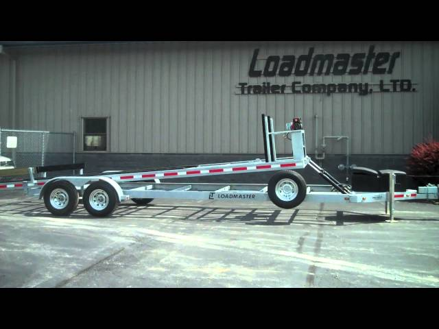 Loadmaster Hydraulic Trailer Lifting (side angle)