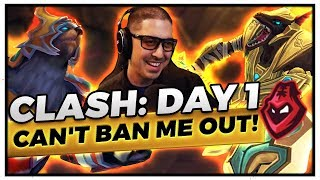 CLASH: DAY 1 | UDYR BANNED EVERY SINGLE GAME!?! - Trick2G