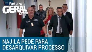 Najila pede para desarquivar processo contra Neymar