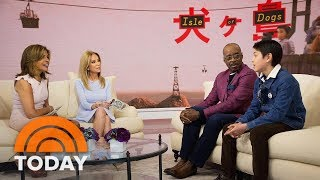 'Isle Of Dogs' Stars Courtney B. Vance And Koyu Rankin On We Anderson's New Animated Movie   TODAY