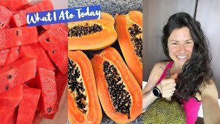 WHAT I ATE TODAY - 2700+ Calories Mostly Raw Vegan