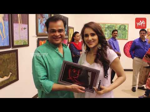 Umesh Shukla And Pankaj Udhas At Sanjay Chhel's Painting Exhibition Man The Moon | YOYO Times