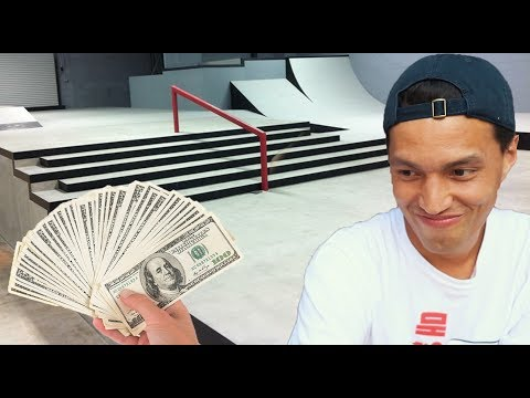 HOW I'M GOING TO PAY FOR MY SKATEPARK!