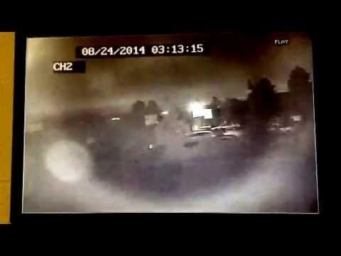 Earthquake lights Santa Rosa