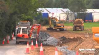 Roadform Ltd   Civil Engineering Contractors   L3060 Road Realignment Project