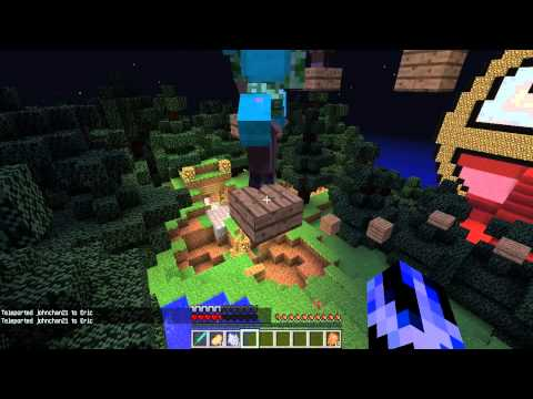 MonsterParty Minecraft 玩 三人跑酷 之 Epic Jump Map v1.1 Ep.2