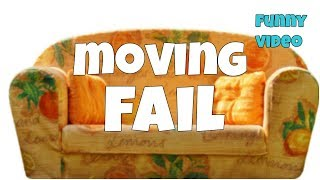 Moving sofa epic fail 🔸 7 second of happiness FUNNY Video 😂 #394