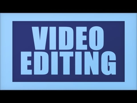 Photoshop CS6 - Video Editing