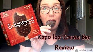 Enlightened Keto Ice Cream Bar Review