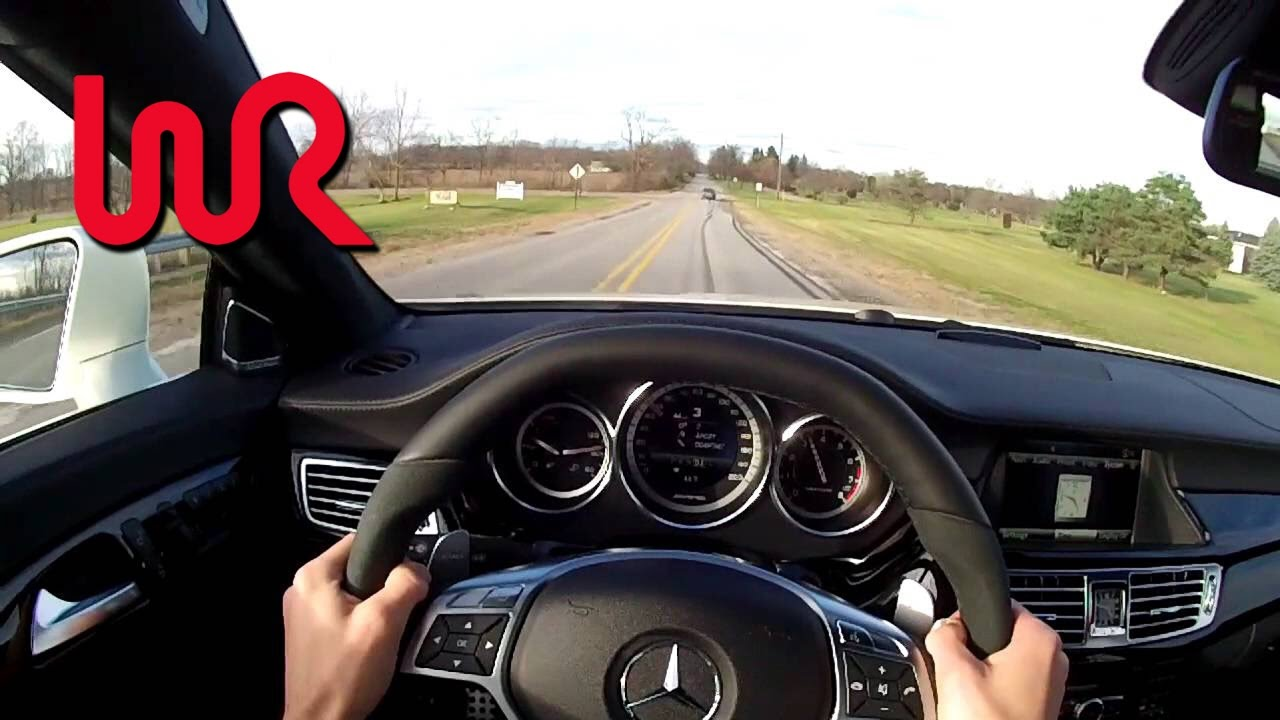 2013 Mercedes Benz Cls63 Amg Wr Tv Pov Test Drive Youtube