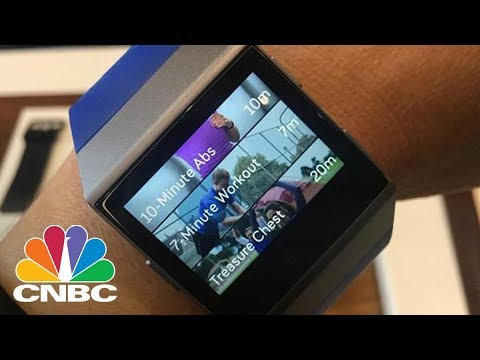 First Look At Fitbit's Long-Awaited $300 Ionic Smartwatch   CNBC