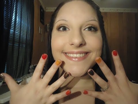 My Thanksgiving Nails (Tutorial)