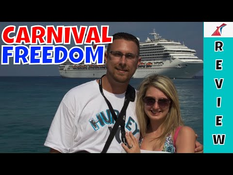 Carnival Freedom 2013 - Tour and Review - Key West, Grand Cayman, Ocho Rios