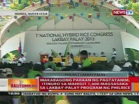 BT: Makabagong paraan ng pagtatanim, itinuro sa mga magsasaka sa