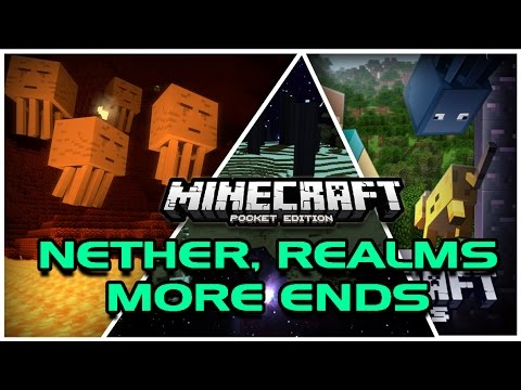 REDSTONE, NETHER, MORE DEVS, REALMS | Minecraft PE UPDATE VIDEO 0.11.0/0.12.0/1.0.0
