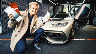 CUSTOMISING MY AMG PROJECT ONE!! | NICO ROSBERG | eVLOG