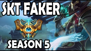 SKT T1 Faker Twisted Fate vs Fizz MID Ranked Challenger Korea
