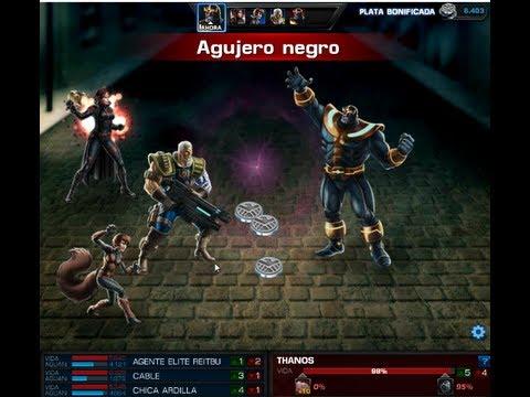 Pelea Jefe Grupal THANOS Muerte y TRUCO para matarlo en una sola batalla Marvel Avengers Alliance