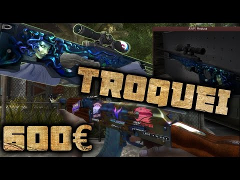 CS:GO | TROQUEI A MINHA AK-47 DE 600 € ! RIP !
