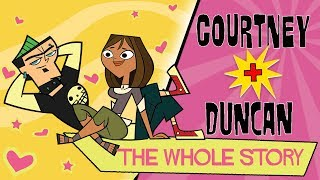 TOTAL DRAMA: Courtney ❤️ Duncan | The whole story