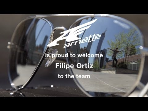 Filipe Ortiz joins Arnette Skate Team