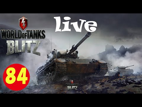 World of Tanks Blitz live part84 solo